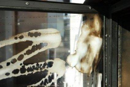 Kaminofen reinigen glasscheibe